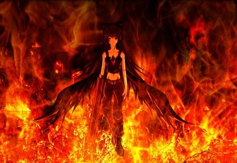 霊烏路空と炎-22