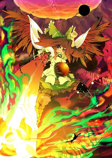 霊烏路空と炎-31