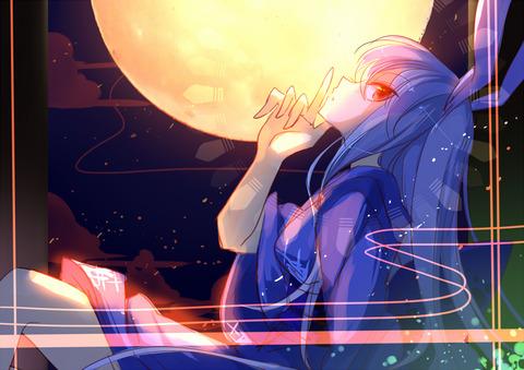 うどんげと和服-09