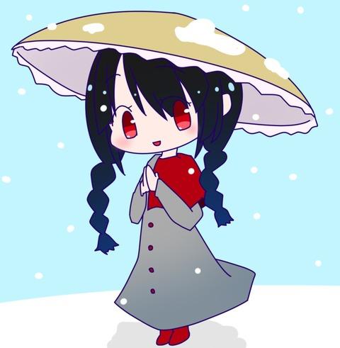矢田寺成美と雪-07