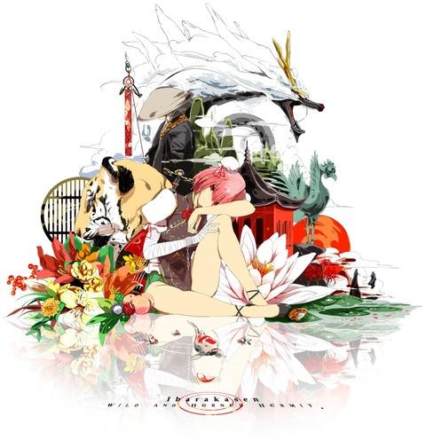 茨木華扇と鷲-20