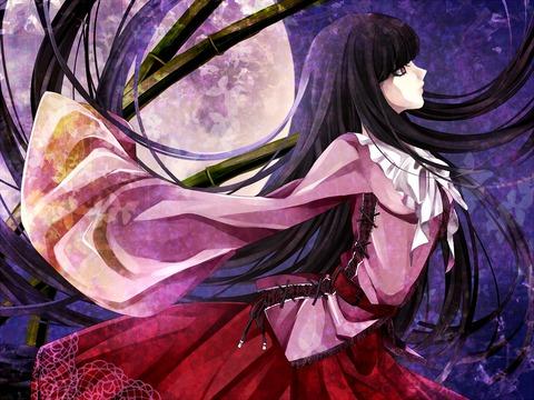輝夜と満月の竹林-30
