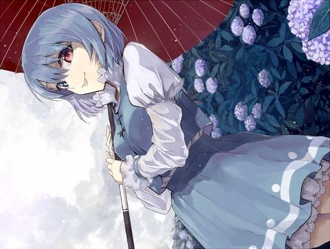 多々良小傘と雨-03