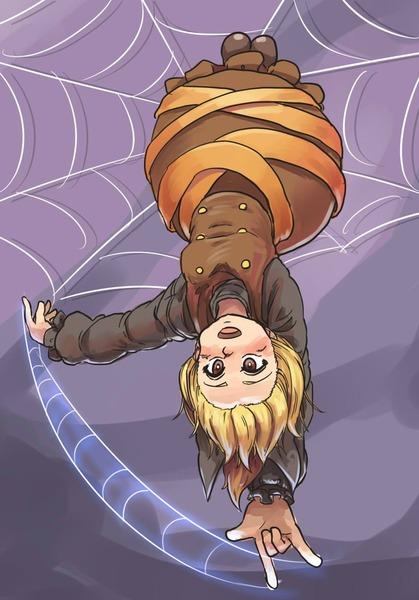 ヤマメ蜘蛛の巣2-37