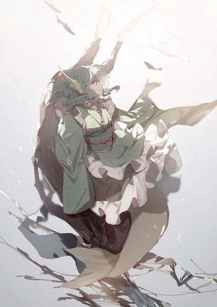 わかさぎ姫と魚-44