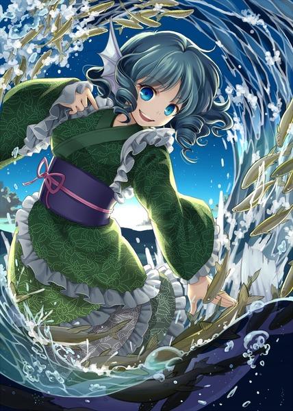 わかさぎ姫と魚-28