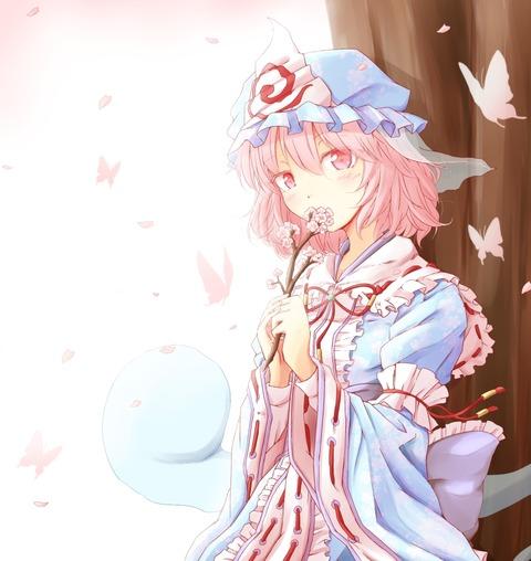 幽々子桜2018-34