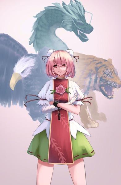 茨木華扇と鷲-12