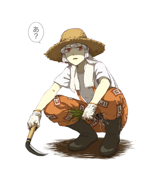 東方麦藁帽子-30
