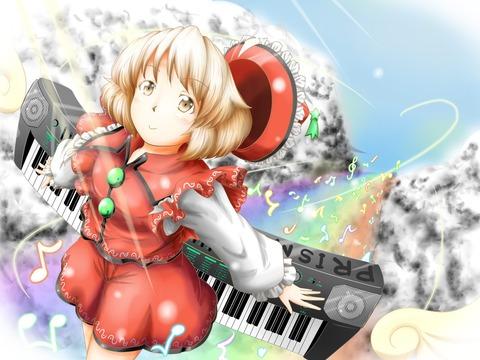 リリカとキーボード-04