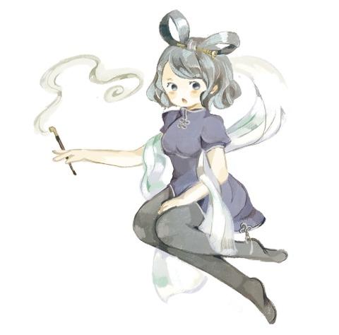 霍青娥と煙管-22
