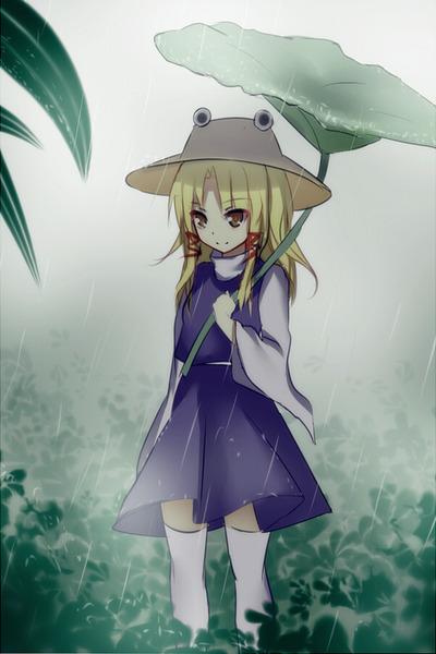 洩矢諏訪子と葉っぱ傘-47