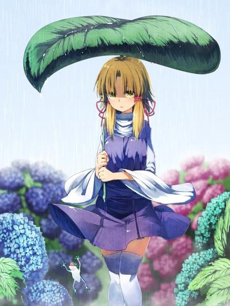 洩矢諏訪子と葉っぱ傘-04