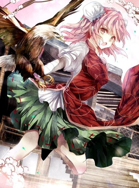 茨木華扇と鷲-06