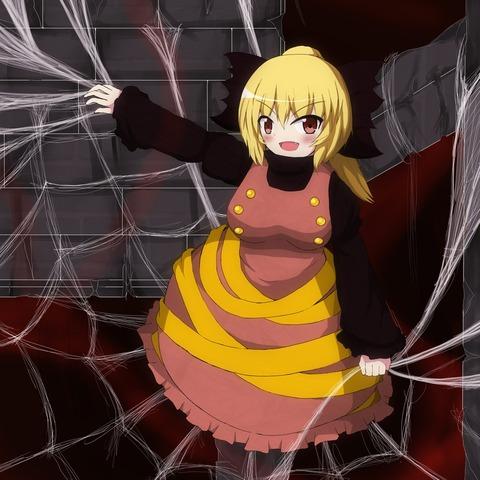 ヤマメ蜘蛛の巣2-11