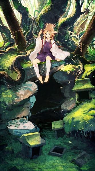 洩矢諏訪子と森-13