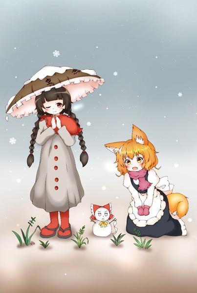 矢田寺成美と雪-24