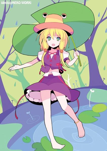 洩矢諏訪子と葉っぱ傘-42