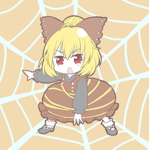 ヤマメ蜘蛛の巣2-21
