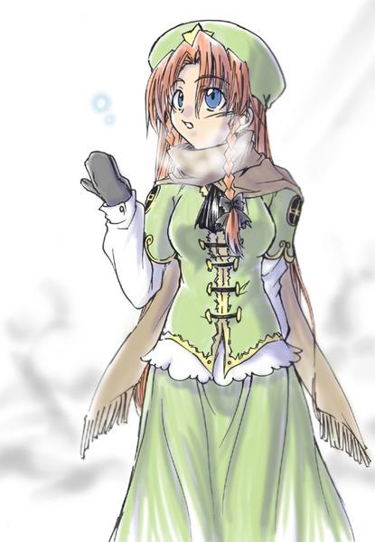 紅美鈴冬服-49