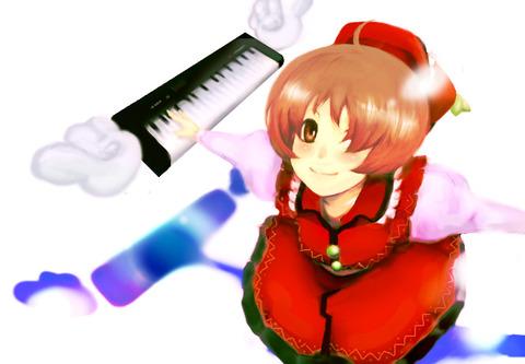 リリカとキーボード-46