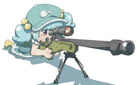 河城にとりと銃-18