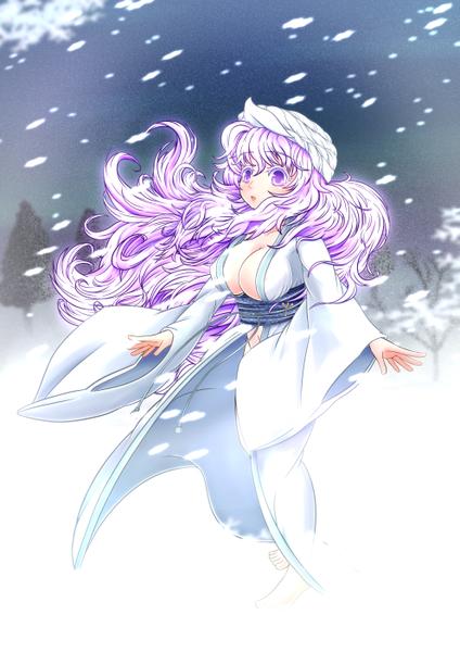 レティと雪-