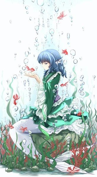 わかさぎ姫と魚-21