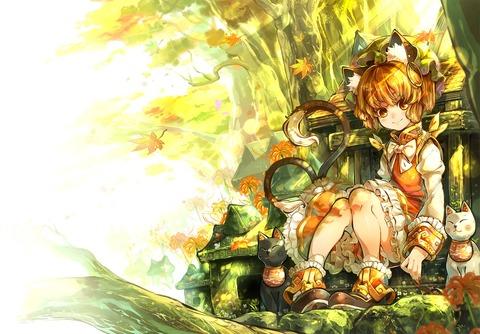 橙と猫-13