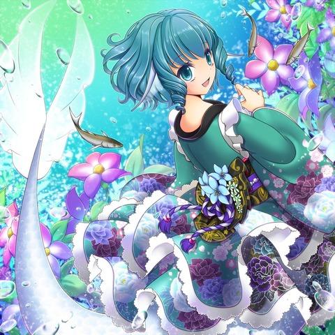 わかさぎ姫と魚-18