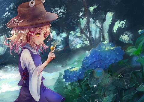 洩矢諏訪子と森-11