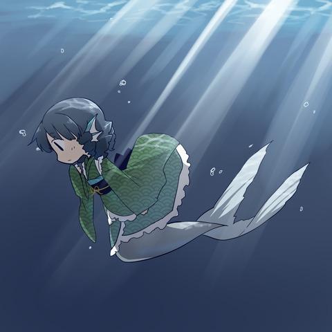 わかさぎ姫水中2-47