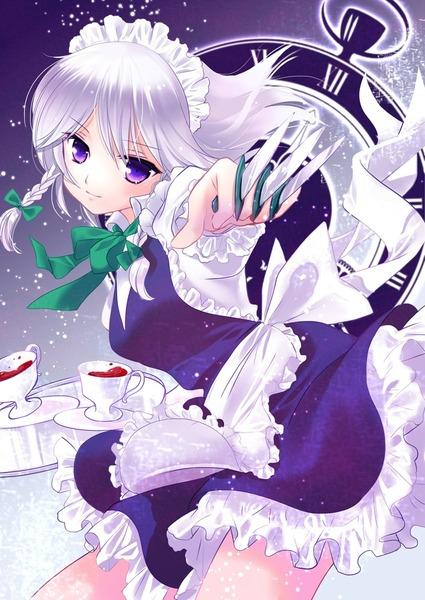十六夜咲夜と紅茶-45