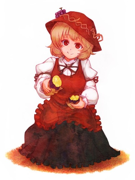 秋穣子と食べ物-22