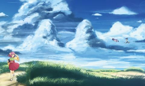 東方空と雲-07