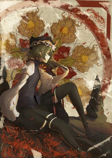 四季映姫と黒ソックス-47