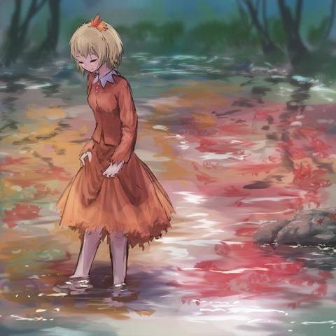 秋静葉スカート-36