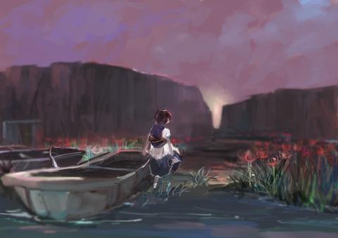 小町と船-44