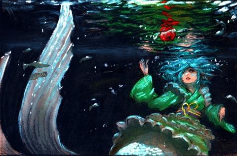 わかさぎ姫と魚-26