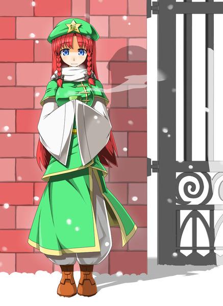 紅美鈴冬服-33