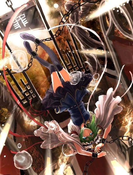 四季映姫と黒ソックス-08
