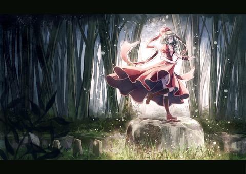 鍵山雛と森-04