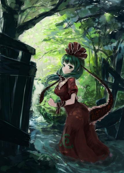 鍵山雛と森-27