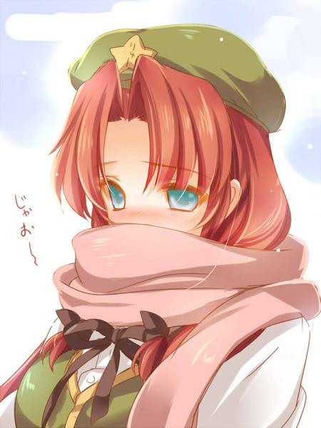紅美鈴冬服-18