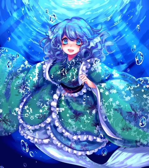 わかさぎ姫水中2-41