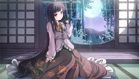 輝夜と満月の竹林-07