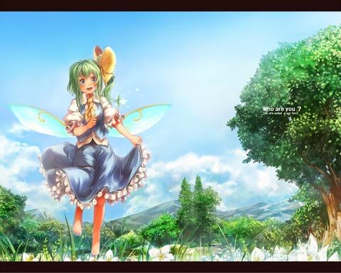 大妖精と花-42