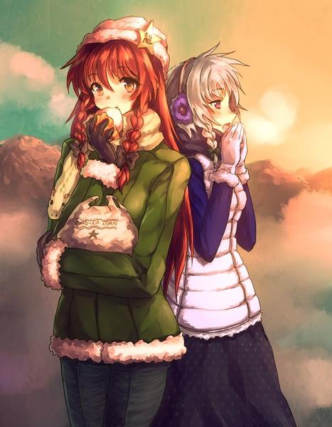 紅美鈴冬服-37