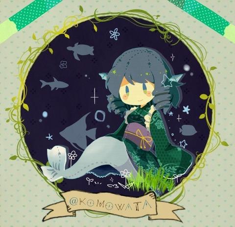わかさぎ姫と魚-41