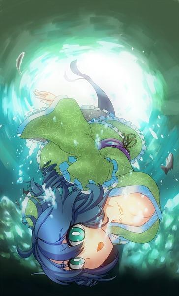わかさぎ姫と魚-4